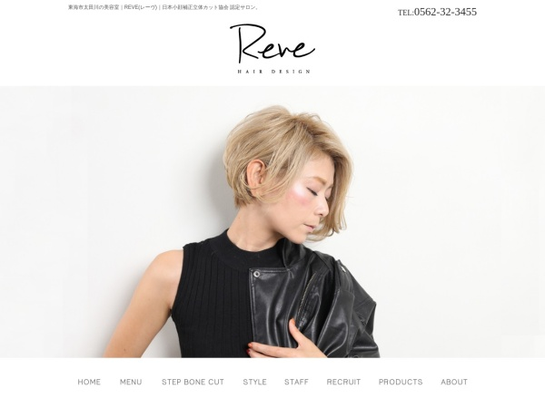 Screenshot of reve-hd.jp