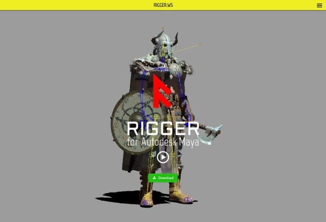 Screenshot of rigger.ws