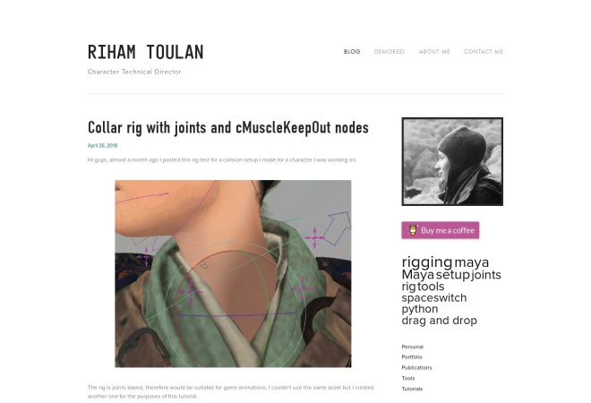 Screenshot of rihamster.com