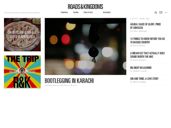 http://roadsandkingdoms.com/