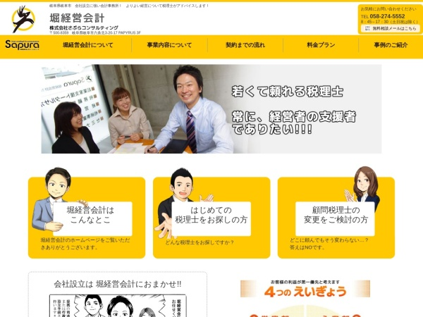Screenshot of sapura-tax.com