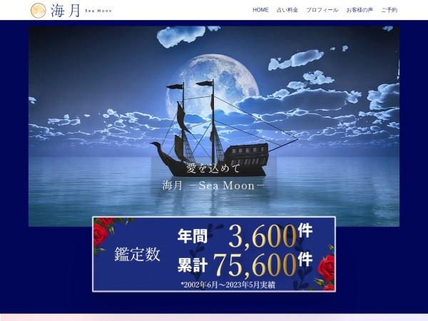 Screenshot of sea-moon.jp