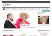 Screenshot of shop-transgender.de
