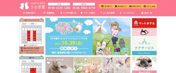 Screenshot of shop.usabosi.com