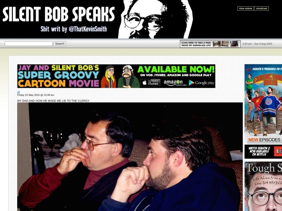 Visit Silent Bobs Website?