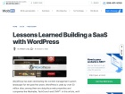 http://sixrevisions.com/wordpress/saas-wordpress/