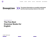San Kloud WordPress Theme example