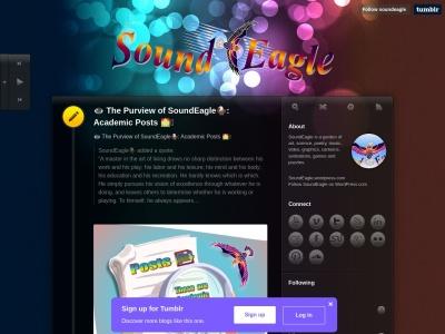 SoundEagle on Tumblr