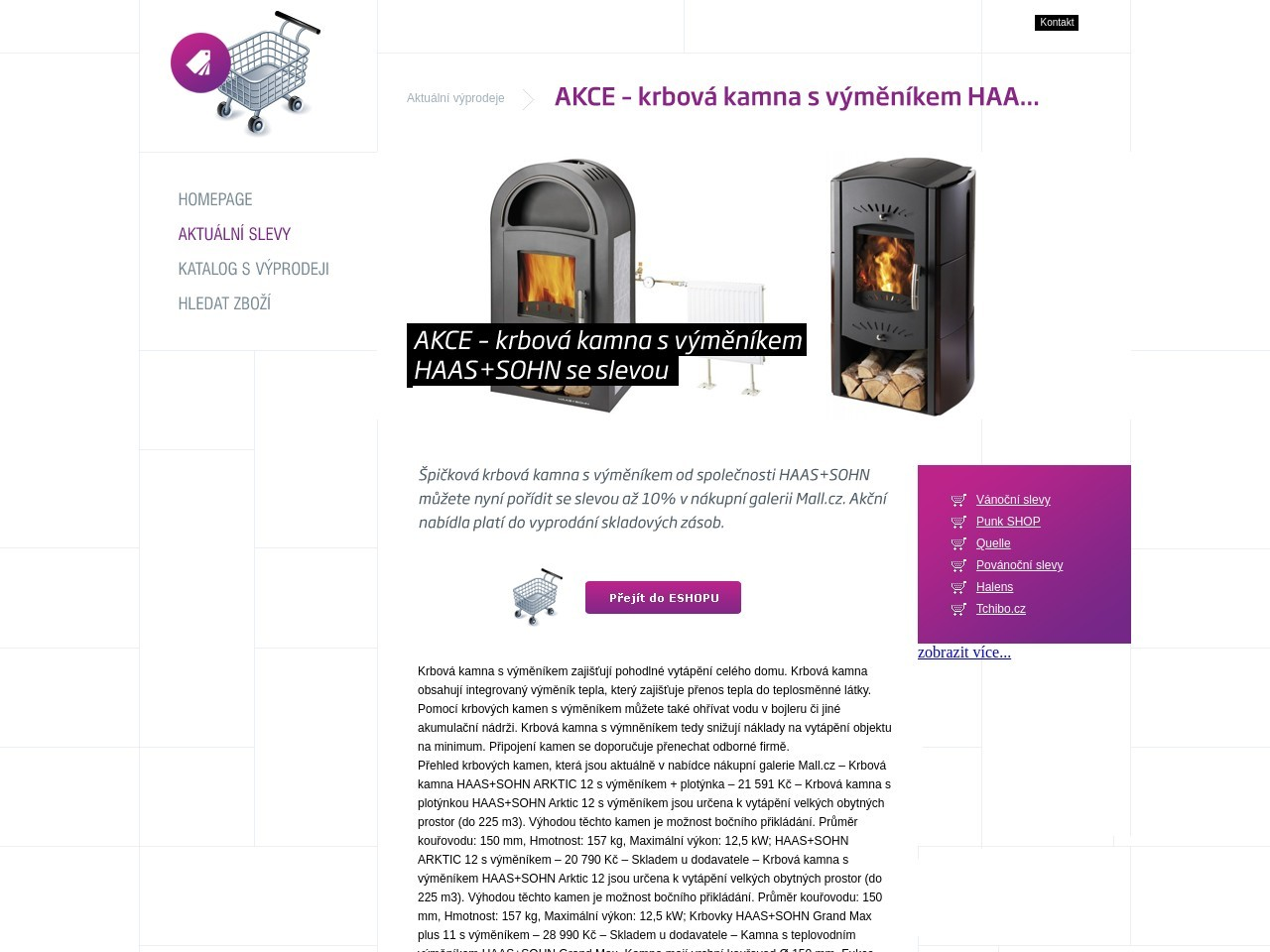 AKCE – krbová kamna s výměníkem HAAS+SOHN se slevou (Zdroj: Wordpress.com)