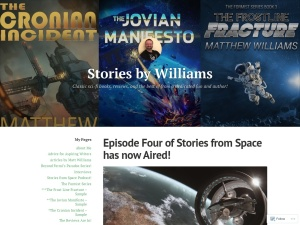 Stories by Williams using the Chapters WordPress Theme