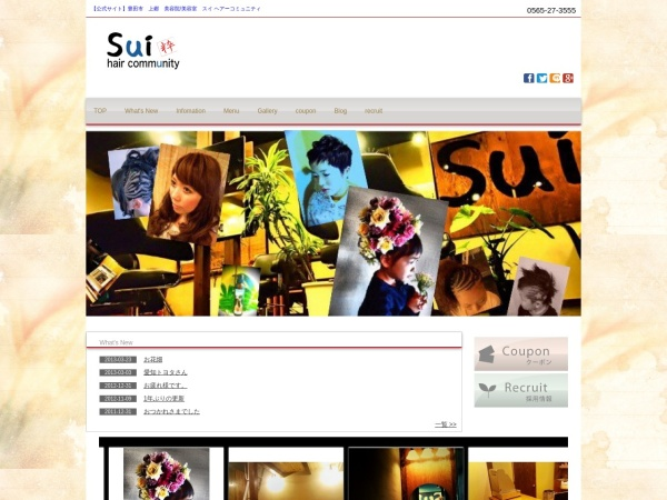 Screenshot of sui-hc.com