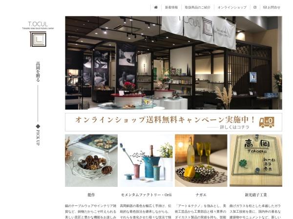 Screenshot of t-ocul.com
