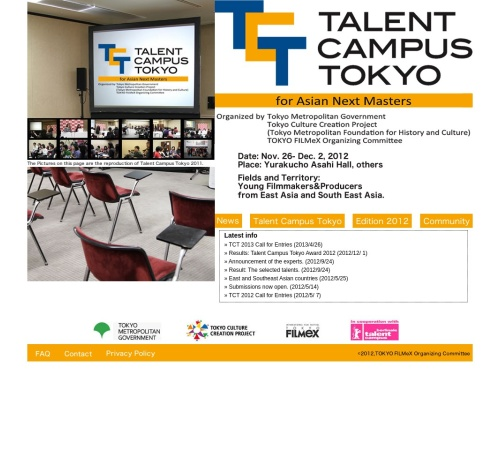 http://talents-tokyo.jp/2012/