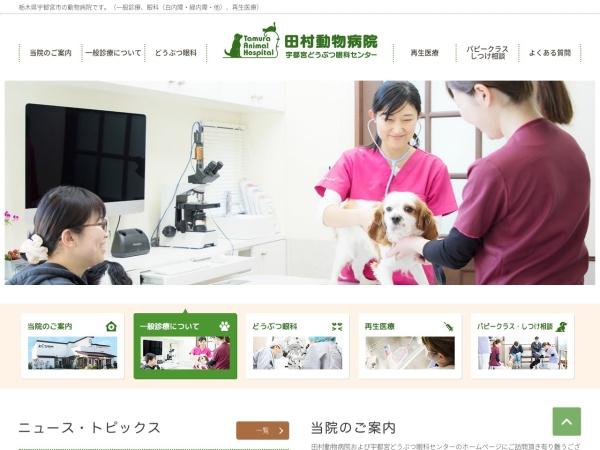 Screenshot of tamura-animal-hospital.com