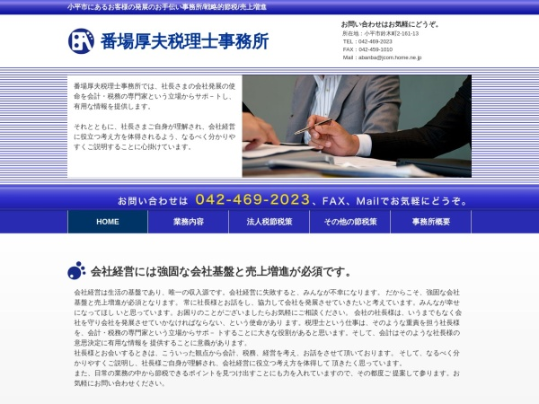 Screenshot of taxbanba.com