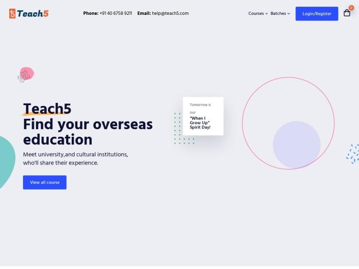 http://teach5.com