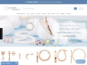Black Bow Jewelry Coupons