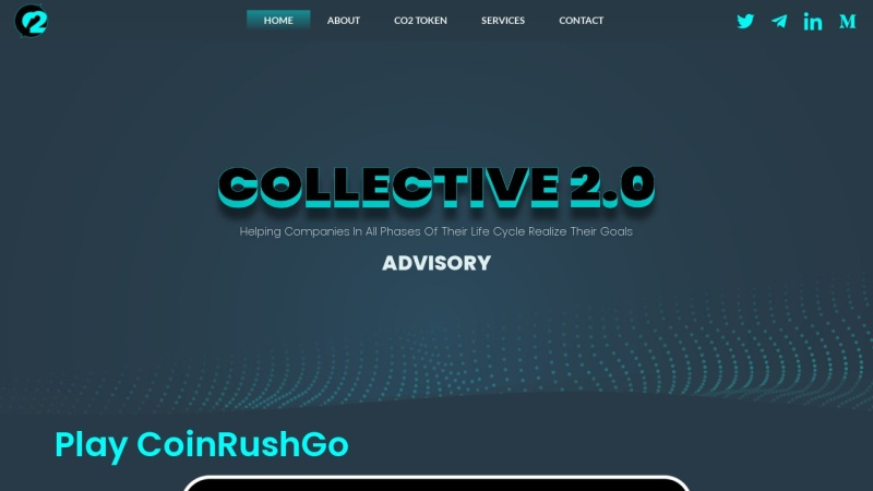 Screenshot of thecollectivegroup.org