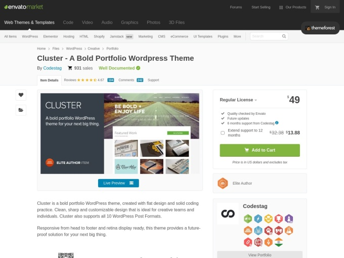 http://themeforest.net/item/cluster-a-bold-portfolio-wordpress-theme/4567609