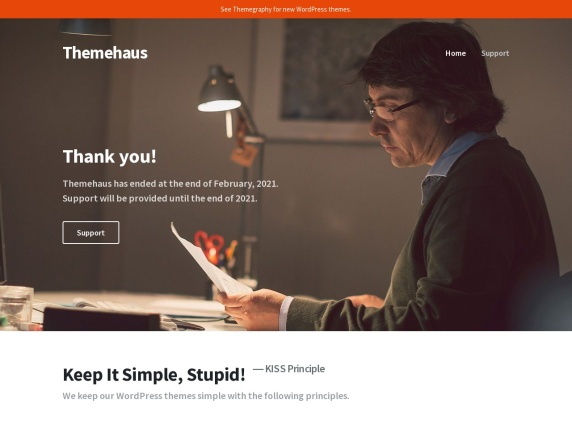 Homepage di Themehaus