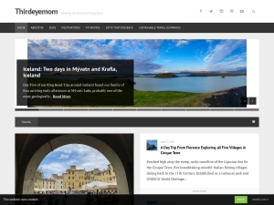 Thirdeyemom using the Gridspace WordPress Theme