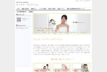 Screenshot of tiara2.grupo.jp