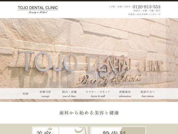 Screenshot of tojo-dental.com