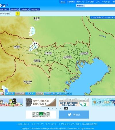 Screenshot of tokyo-ame.jwa.or.jp