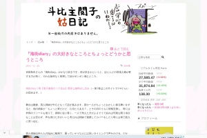 Screenshot of topisyu.hatenablog.com