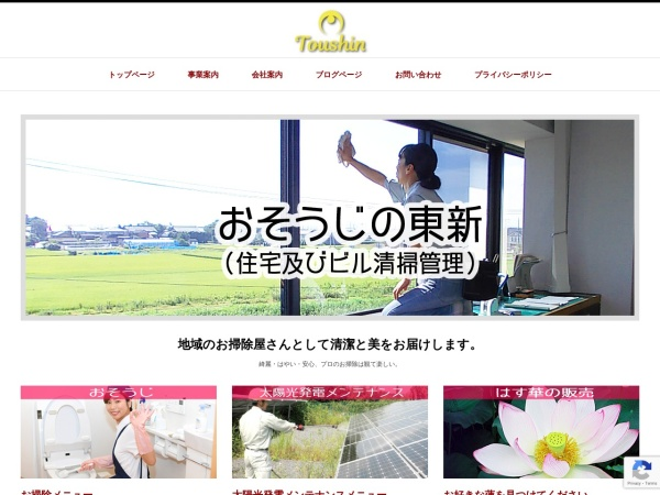 Screenshot of toushin-i.com