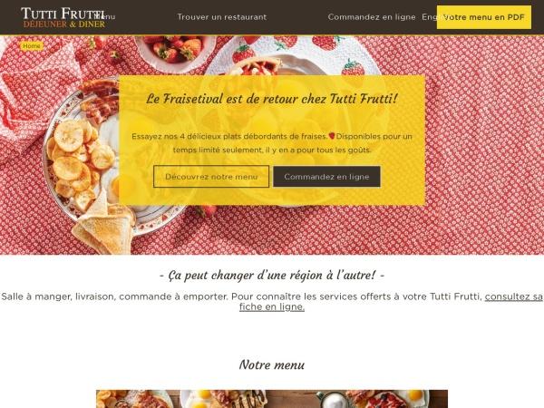Screenshot of tuttifruttibreakfast.com