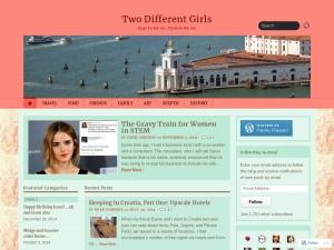 Two Different Girls using the Opti WordPress Theme
