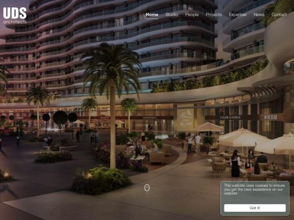 Screenshot of udsarchitects.com