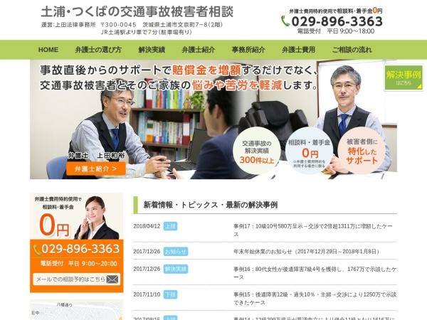 Screenshot of ueda-law-office.com