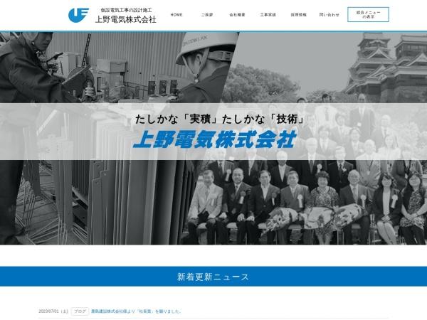 Screenshot of ueno-denki.com
