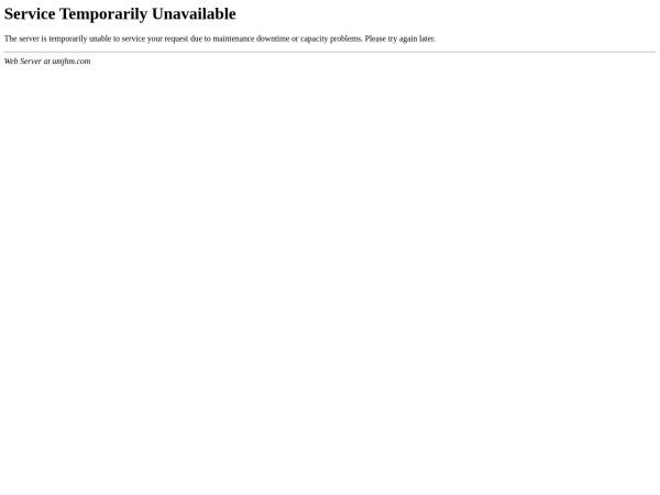 Screenshot of umjhm.com