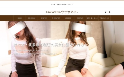Screenshot of urasanesu.com