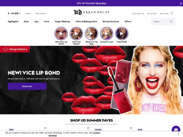Review of urbandecay
