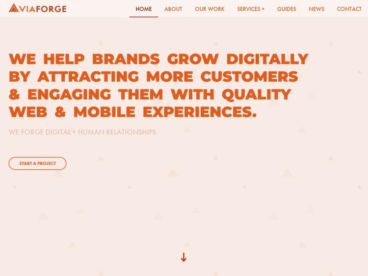 ViaForge: Columbus Digital Marketing Agency & Web Design Company