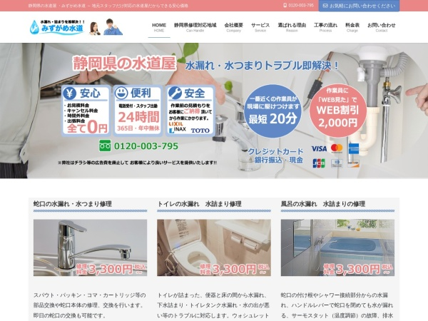 Screenshot of waterlifesupport.com