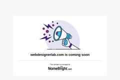 Screenshot of webdesignerlab.com