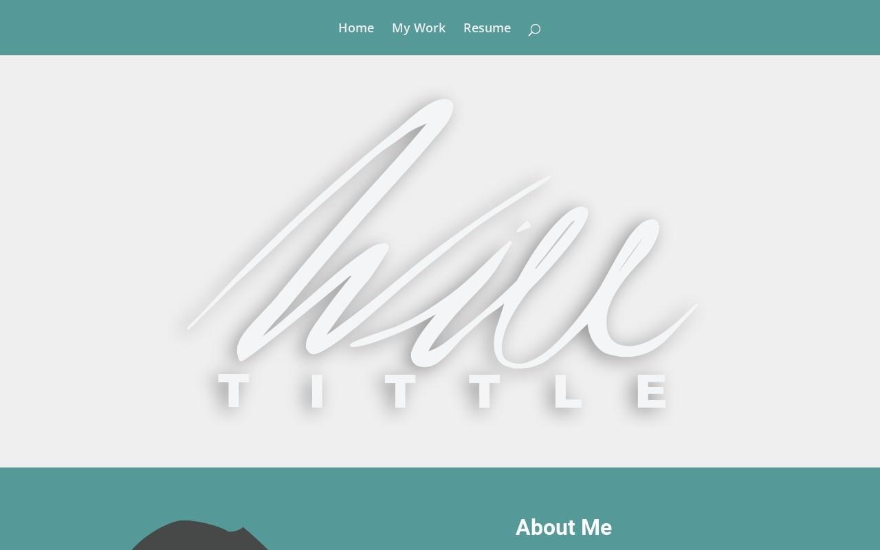 Screenshot of willtittle.com