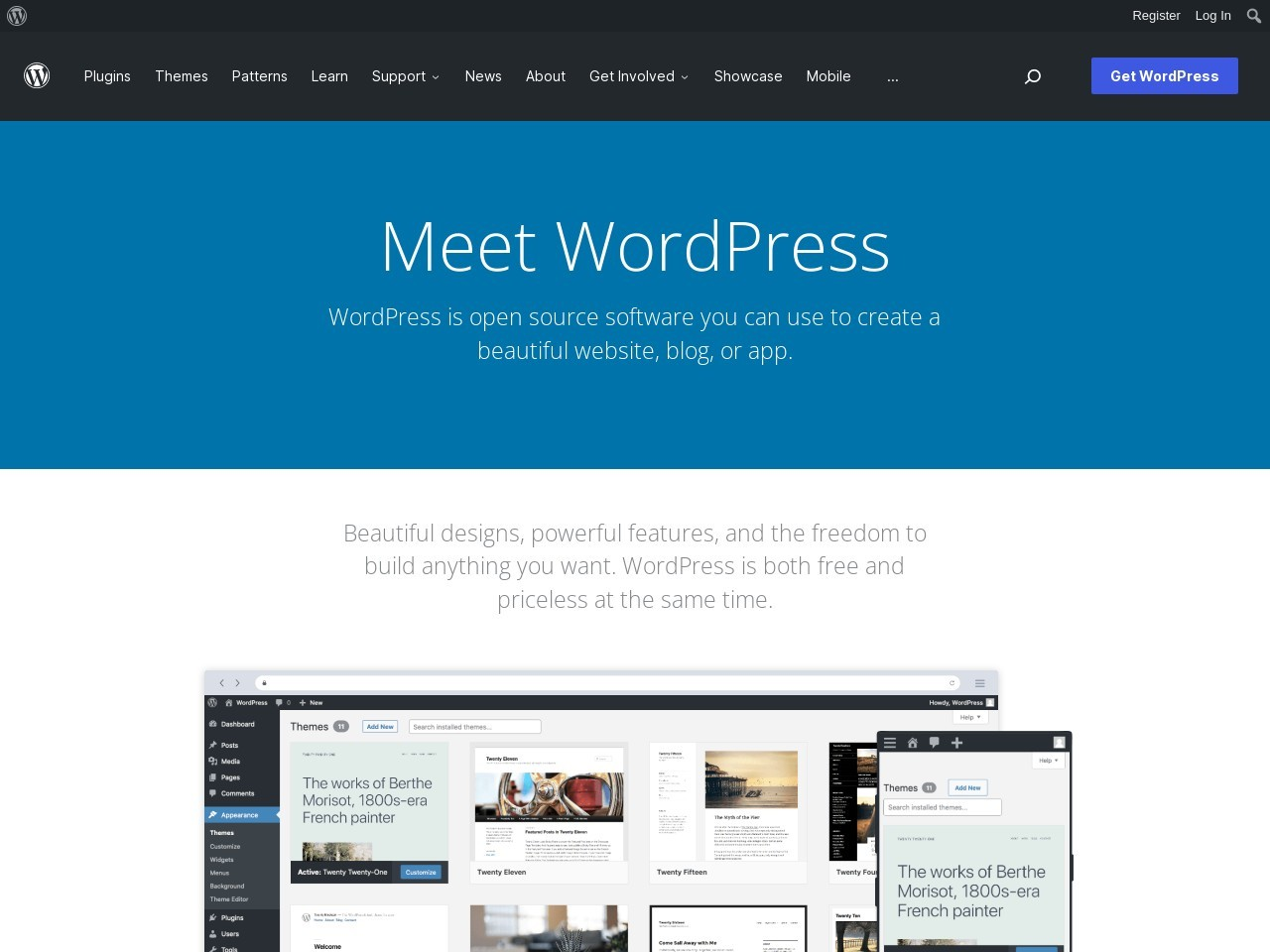 http://wordpress.org/extend/themes/Simple%20Catch