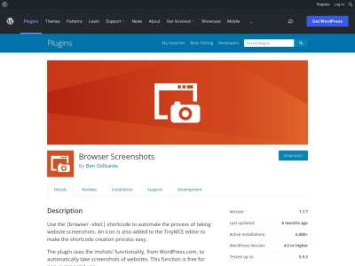 http://wordpress.org/extend/plugins/browser-shots/