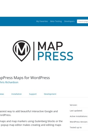 http://wordpress.org/extend/plugins/mappress-google-maps-for-wordpress/screenshots/