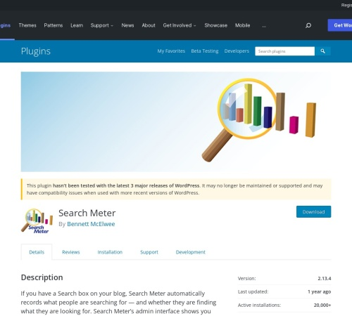 http://wordpress.org/extend/plugins/search-meter/