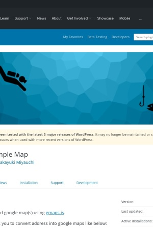 http://wordpress.org/extend/plugins/simple-map/