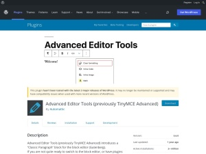 http://wordpress.org/extend/plugins/tinymce-advanced/