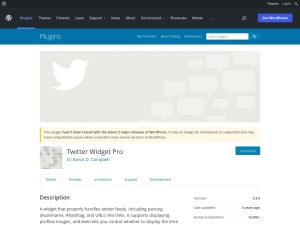 http://wordpress.org/extend/plugins/twitter-widget-pro/