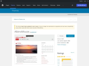 http://wordpress.org/extend/themes/AlbinoMouse